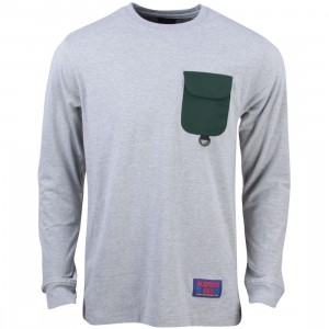 Acapulco Gold Men Basecamp Long Sleeve Tee (gray / heather)