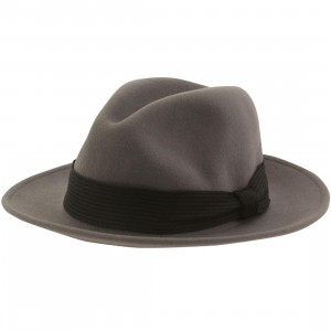 Brixton Nelson Fedora Hat (gray / light)
