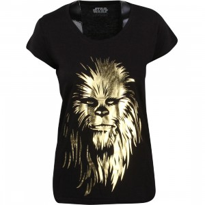 Eleven Paris x Star Wars Women Chewbacca Pimp Tee (black)