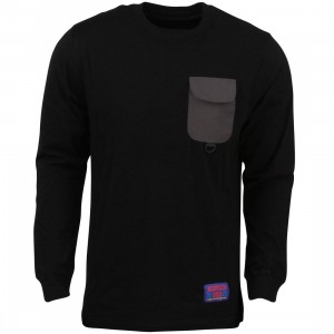 Acapulco Gold Men Basecamp Long Sleeve Tee (black)