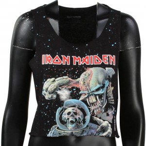 Eleven Paris x Iron Maiden Women Iron1 Crop Tee (black)