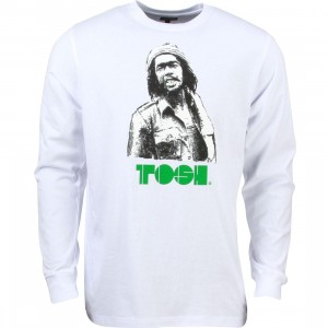 Acapulco Gold Men Dread Long Sleeve Tee (white)