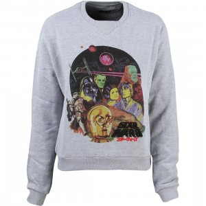 Eleven Paris x Star Wars Women Pepper Sweater (gray)