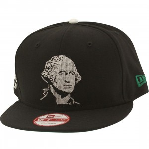 Acapulco Gold Founders New Era Snapback Cap - Washington (black)