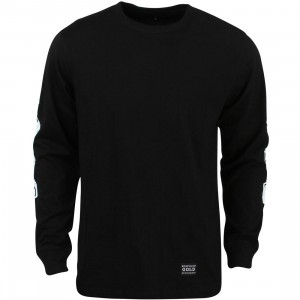 Acapulco Gold Men Snake Eyes Long Sleeve Tee (black)