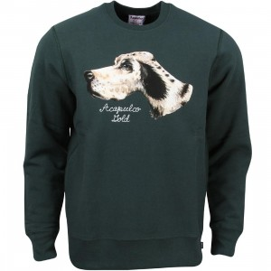 Acapulco Gold Men Champ Crewneck Sweater (green)