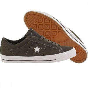 Converse Men One Star Skate Ox (gray / charcoal)