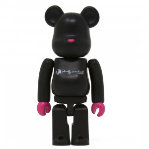 Medicom Andy Warhol 100% Bearbrick Figure DesignerCon Exclusive (black)