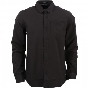 Tavik Men Maison Pinstripe Woven Shirt (black)