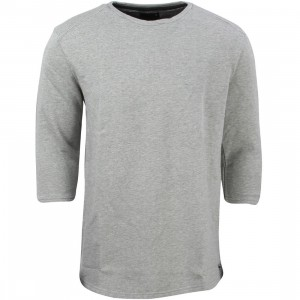 Tavik Men Fairfax Sleeve Fleece Sweater (gray / heather)