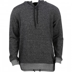 Tavik Men Rift Fleece Pullover Sweater (black / heather)