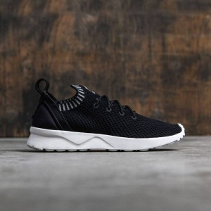 Adidas Women ZX Flux ADV Virtue Primeknit (black / core white / metallic silver)