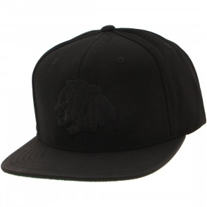 American Needle Chicago Blackhawk Tonalism Adjustable Cap (black)