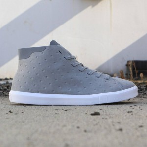 Native Men Monaco Mid (gray / pigeon / shell white)