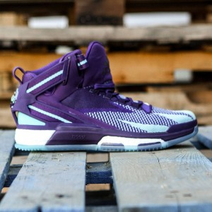 Adidas Men D Rose 6 Boost Primeknit (purple / dark purple / blast purple / blue glow)