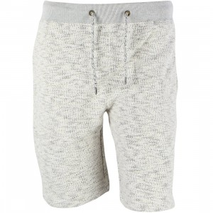 10 Deep Men Pique Fleece Shorts (white / natural marble)
