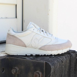 Saucony Men Jazz 91 (white / tan)