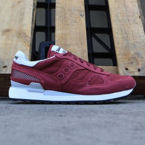 Saucony Men Shadow Original Vegan (burgundy)