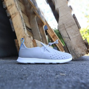 Native Little Kids Apollo Moc (gray / pigeon / shell white)