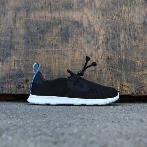 Native Little Kids Apollo Moc (black / jiffy / shell white)