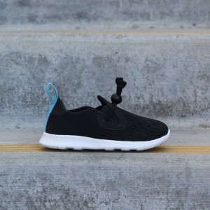 Native Toddlers Apollo Moc (black / jiffy / shell white)