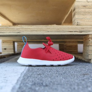 Native Toddlers Apollo Moc (red / torch / shell white)