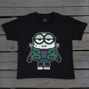 BAIT x Minion Monsters Women FrankenBob Tee (black)