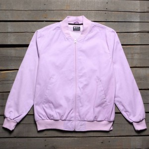 BAIT Men Canvas Jacket - Made In LA (purple / lavender)
