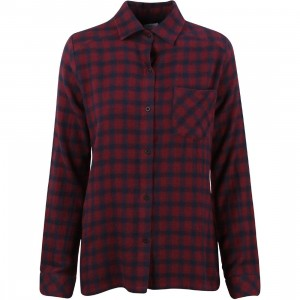 RVCA Women Jig 2 Shirt (burgundy)