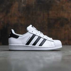 Adidas Big Kids Superstar (white / core black / footwear white)