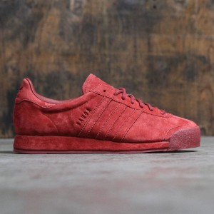 Adidas Men Samoa Vintage Mystery Red - Pigskin Suede Pack (red)