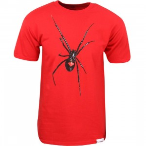 Diamond Supply Co Men Widow Tee (red)