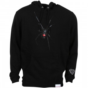 Diamond Supply Co Men Widow Hoodie (black)