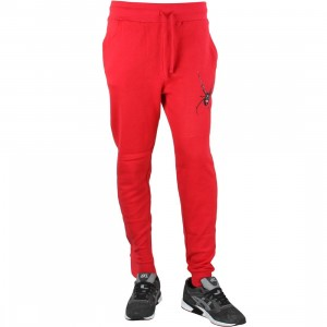 Diamond Supply Co Men Widow Sweatpants (red)