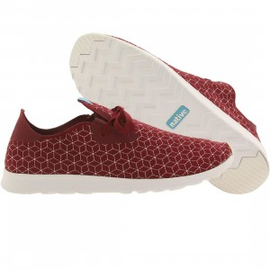 Native Men Apollo Moc Embroidered (red / shell white)