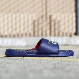Islide x NBA Cleveland Cavaliers Men Gel Slides (navy / navy)