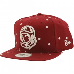 Billionaire Boys Club Astro Head Snapback Cap (red)