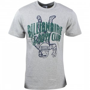 Billionaire Boys Club Men Right Side Up Tee (gray / heather)