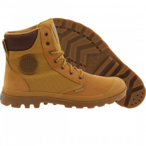 Palladium Boots Men Pampa Sport Cuff (brown / amber gold)
