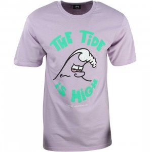 Stussy Men High Tide Tee (purple)
