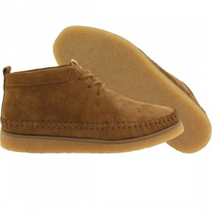 Pointer Men Karl Nubuck (brown / dark camel / light crepe)