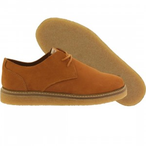 Pointer Men Crago Unlined Leather (brown / sudan brown / light crepe)