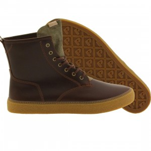 Pointer Men Rollins Unlined Nubuck Leather (brown / mandarin / cigar / light gum)