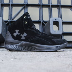 Under Armour x Steph Curry Men Curry 1 Mid Alpha - Curry Lux Pack (black / black)