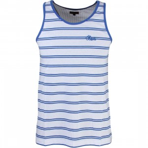 CLOT Men Border Mesh Tank Top (white)