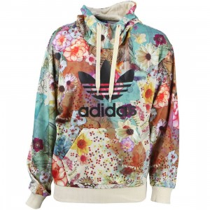Adidas x The Farm Company Women Trefoil Hoodie (multi)