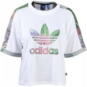 Adidas Women Training Cuff Tee (white)