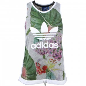 Adidas Women Train Floral Tank Top (multi)