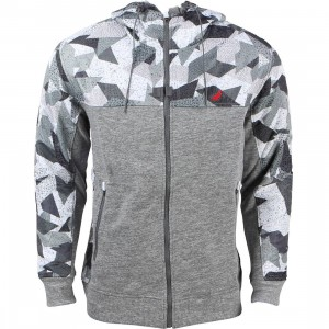 Staple Men Geocamo Hoodie (gray / heather)