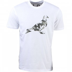 Staple Men Geocamo Pigeon Tee (white)